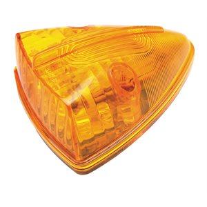 CAB MARKER LIGHT, TRIANGLE, 15 LEDS, AMBER