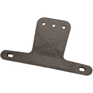 "8-21 / 32"" LICENSE PLATE BRACKET, PLASTIC, #52002"