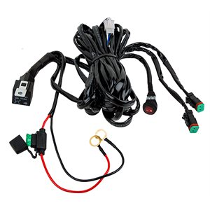 HARNESS,(2) TERMINALS, (2) DT PLUGS, W / ON / OFF SWITCH, NOT TO EXCEED 250W