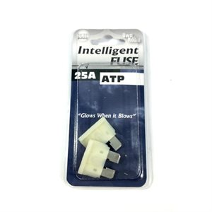 INTELLIGENT FUSE, ATP BLADE SERIES, 2-PACK, 25 AMP