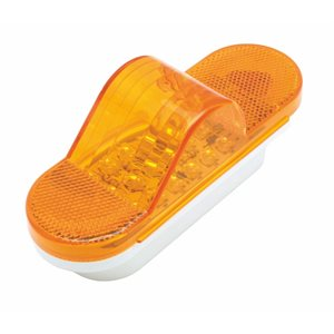 LED MID-TURN SIGNAL / REFLECTIVE MARKER LIGHT, AMBER