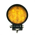 LED WORK LIGHT, 6 LED, FLOOD (AMBER)