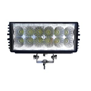 "7.9"" OFF-ROAD, LIGHT BAR, LED, DOUBLE ROW, 2700LM-SPOT"