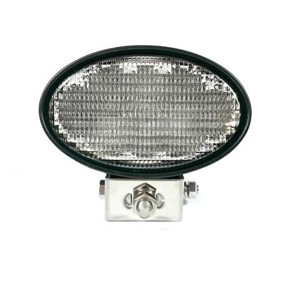 LED WORK LIGHT, OVAL- FLOOD BEAM