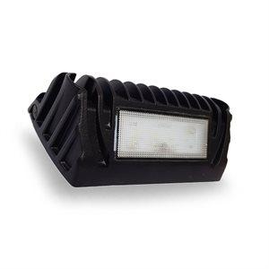 45° LED WORK LIGHT, FLOOD, 750 LM- BLACK