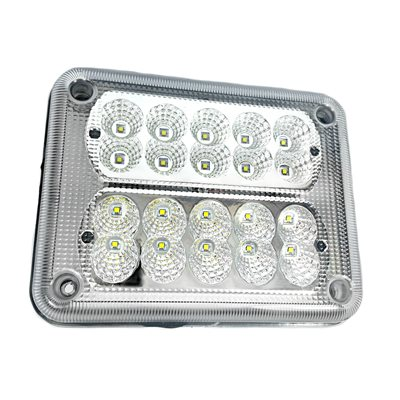 LED SCENE LIGHT, 10 LED'S AT 0° / 10 AT 26°