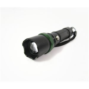 TACTICAL / AUTO SAFETY LED FLASHLIGHT KIT, RECHARGEABLE