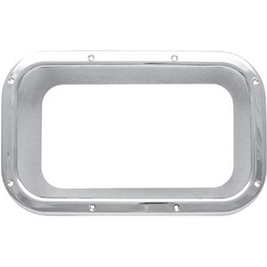 KENWORTH BEZEL / TRIM-VIEW WINDOW, INSIDE, STANDARD DOOR, CHROME