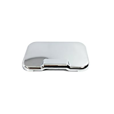 KENWORTH ASH TRAY COVER, BCU CHROME PLATED PLASTIC