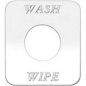 FREIGHTLINER SWITCH PLATE- WASH & WIPE