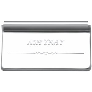 COVER PLATE, ASH TRAY, FLD CLASSIC-ENGRAVED W / GRAPHIC
