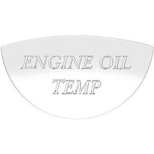 FREIGHTLINER GAUGE EMBLEM, ENGINE OIL TEMP - FLD CLASSIC