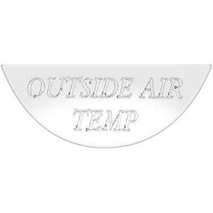 FREIGHTLINER GAUGE EMBLEM, OUTSIDE AIR TEMP - FLD CLASSIC