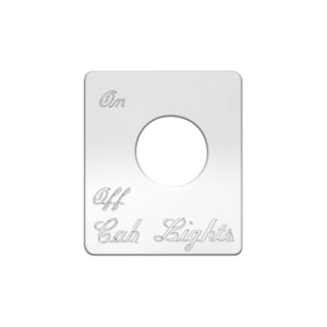 Left Power Mirror Peterbilt Toggle Switch Plate