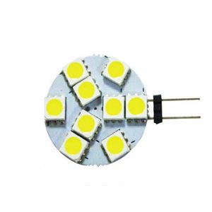 LED BULB, G-4 SIDE MOUNT DISC, 5500K