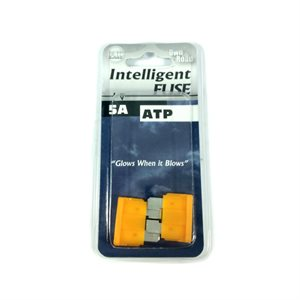 INTELLIGENT FUSE, ATP BLADE SERIES, 2-PACK, 5 AMP